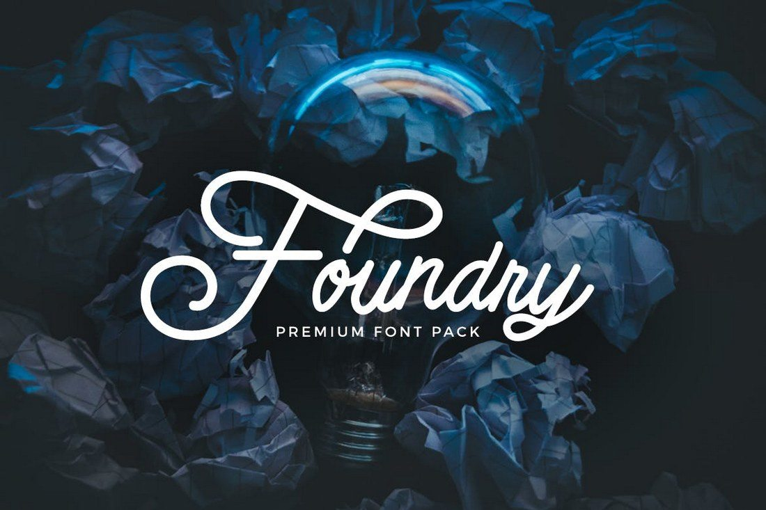 Foundry-Font-Pack 30+ Best Fonts for Logo Design design tips