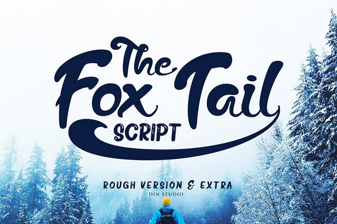 Fox-Tail-Script-Free-1 60+ Best Free Fonts for Designers 2019 (Serif, Script & Sans Serif) design tips