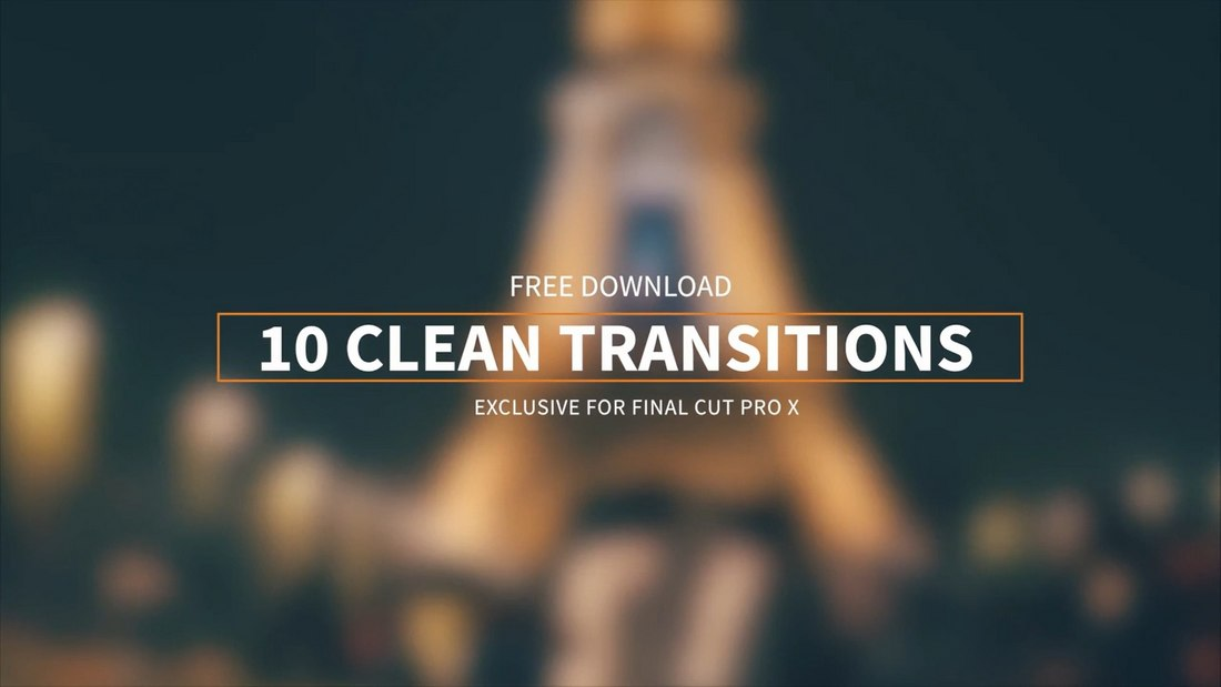 Free-10-Clean-Transitions-for-Final-Cut-Pro 22+ Best Final Cut Pro Slideshow Video Templates in 2020 design tips