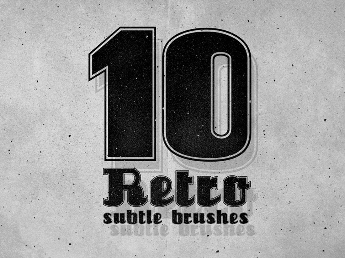 Free 10 Photoshop Subtle Brushes