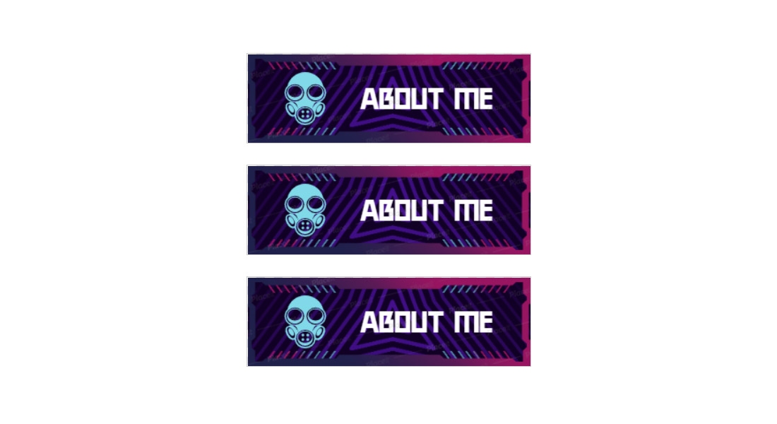 Free-About-Me-Twitch-Panel-Template 15+ Best Twitch Panel Templates & Makers 2021 (Free & Premium) design tips