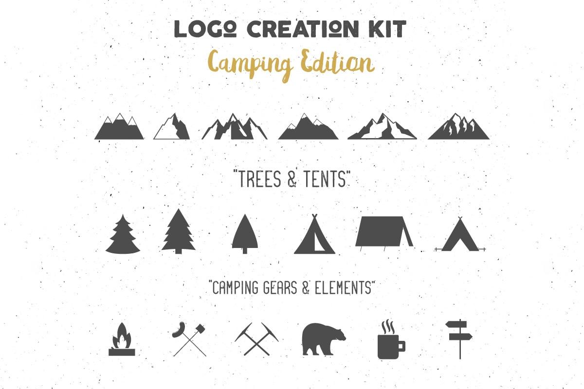 Free Adventure Logo Creator Pack
