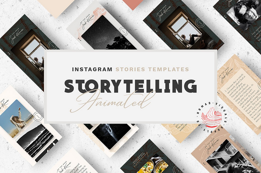 Free Animated Instagram Story Templates