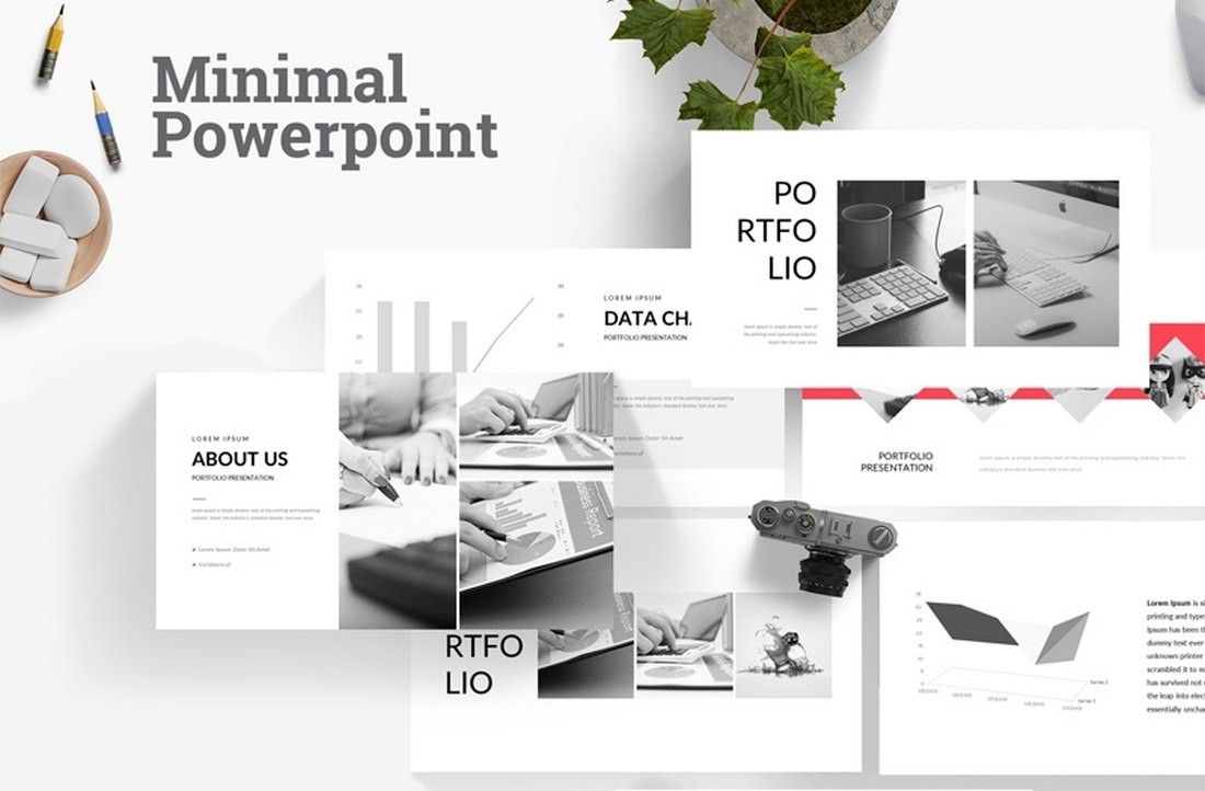 Free-Animated-Minimal-Powerpoint-Template 30+ Animated PowerPoint Templates (Free + Premium) design tips
