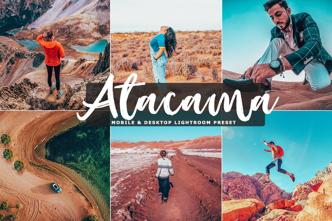 Free Atacama Mobile & Desktop Lightroom Preset
