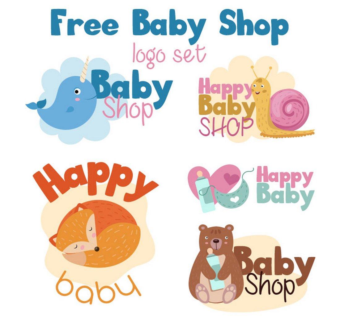 Free Baby Shop Logo Templates
