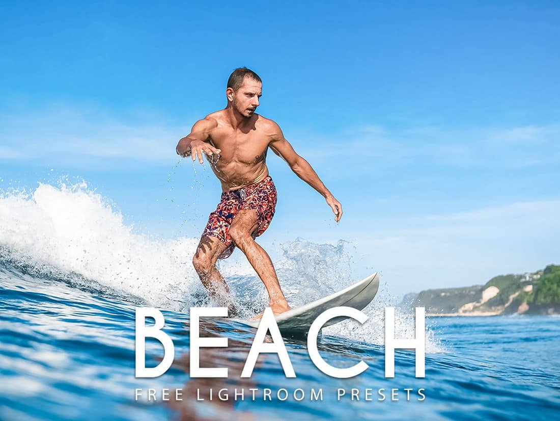 Free Beach Lightroom Presets