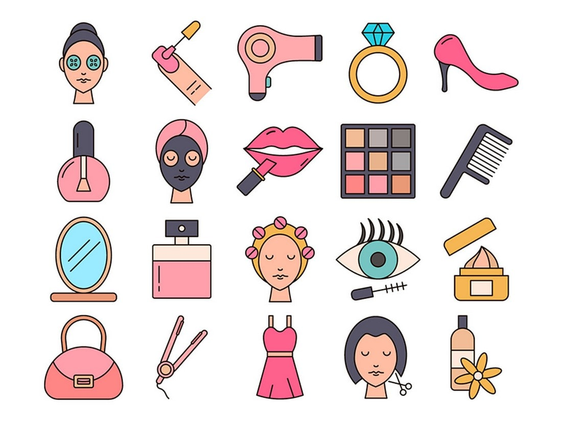 Free Beauty Instagram Highlight Cover Icons