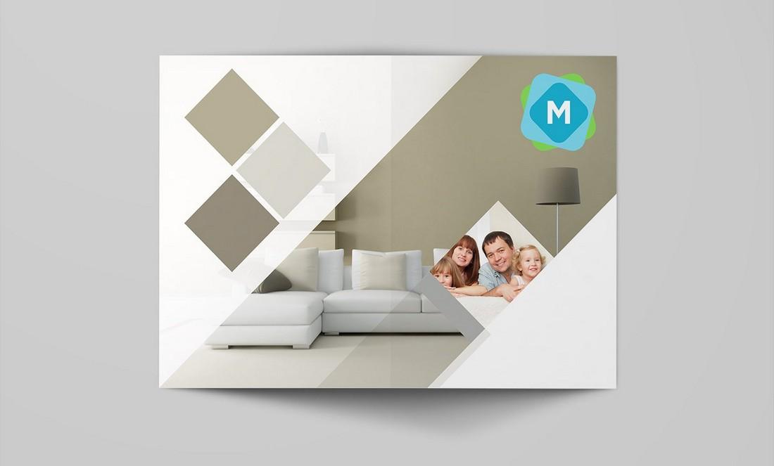 Free Bi-Fold Brochure Mockup Pack