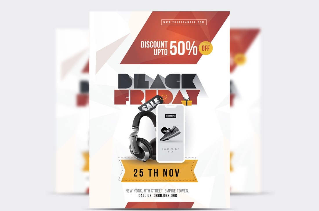 Free Black Friday Sale Poster Template