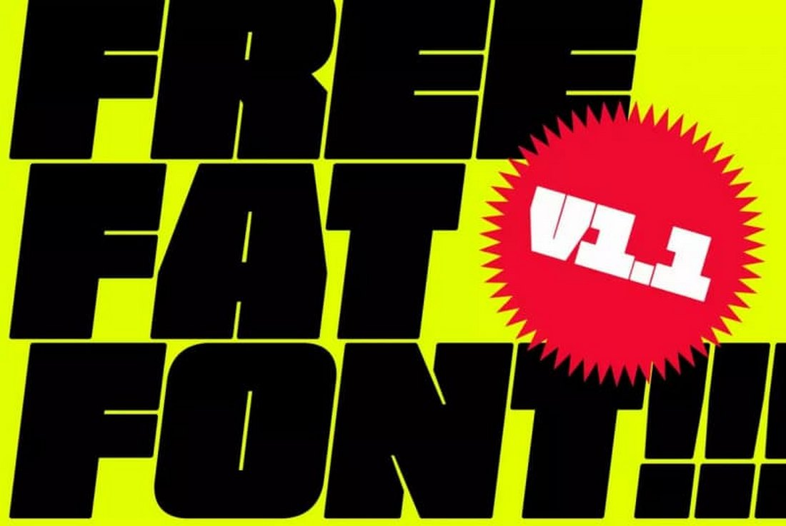 Free Bold & Fat Font