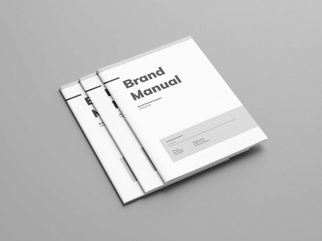 Free-Brand-Manual-Template 20+ Best Brand Manual & Style Guide Templates 2020 (Free + Premium) design tips