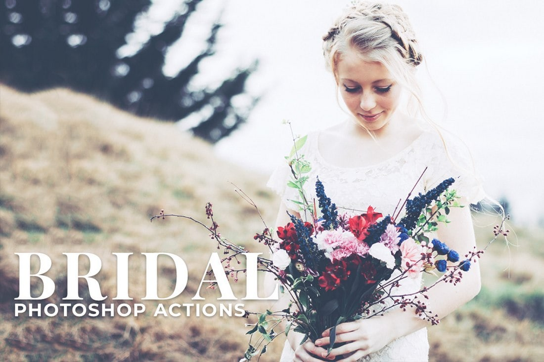 Free Bridal Photoshop Actions