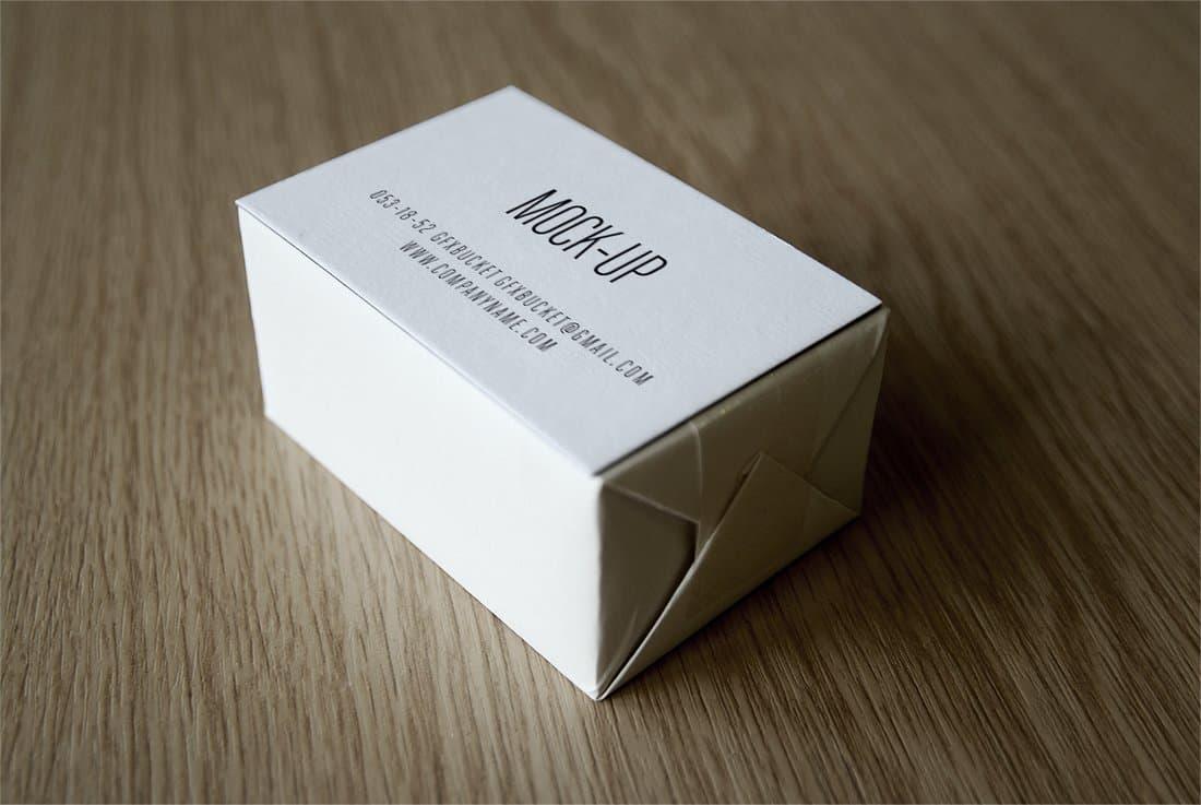 Free Business Card Logo Mockup