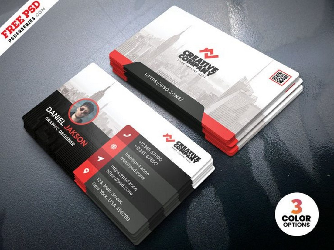 Free Business Card for Creative Company