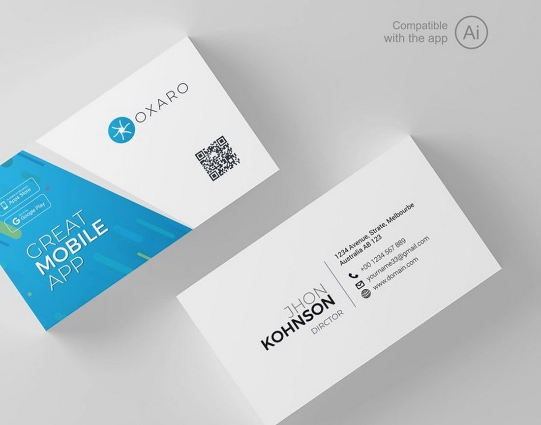 Free Business Card for Startups