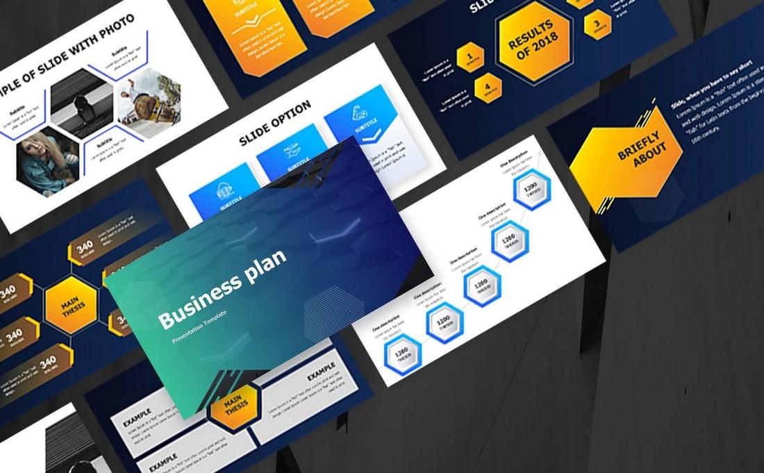 Free Business & Marketing Plan PPT Presentation
