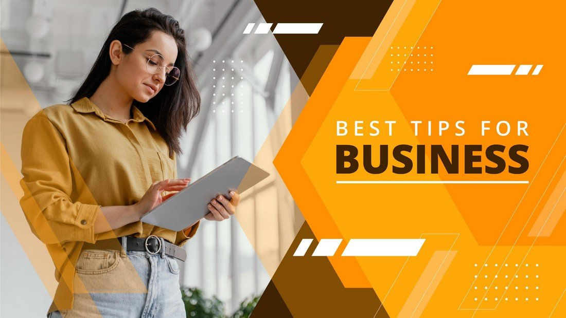Free Business Video YouTube Thumbnail Template