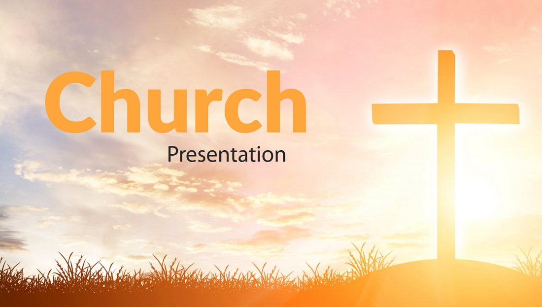 Free Church Conference Powerpoint Template