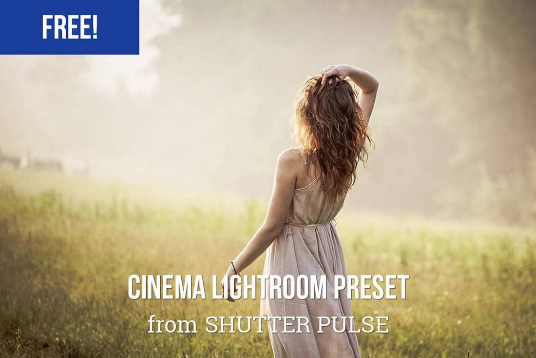 Free Cinema Lightroom Preset