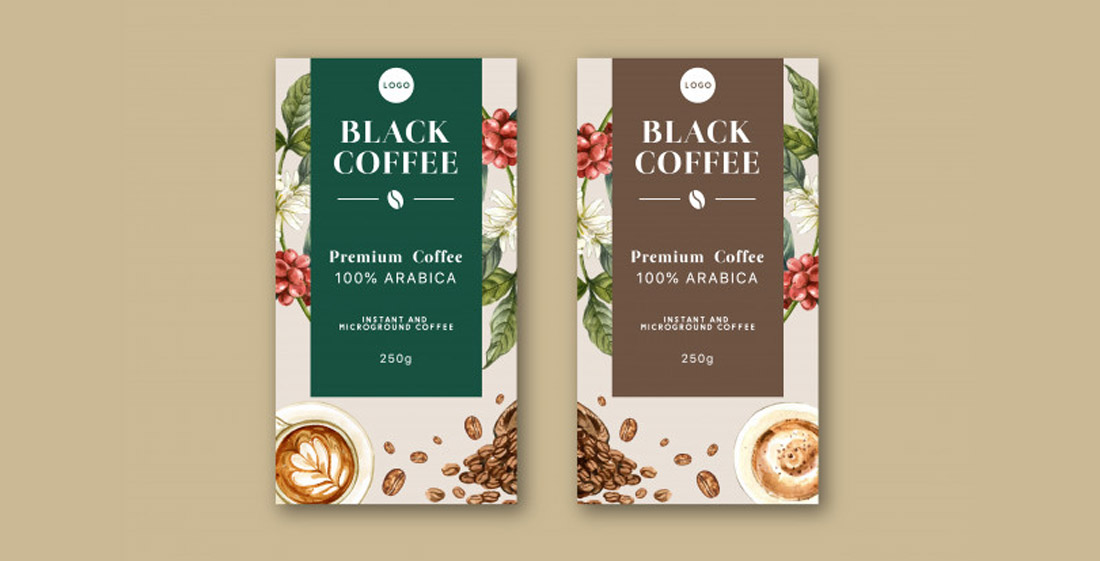 Free Coffee Packaging Design Template