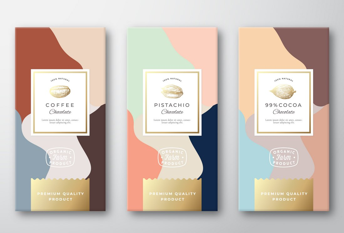 Free Coffee & Pistachio Package Templates
