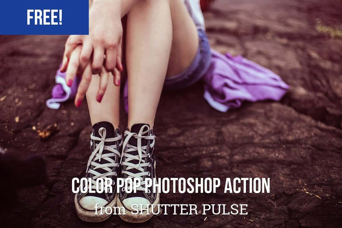 Free Color Pop Photoshop Action
