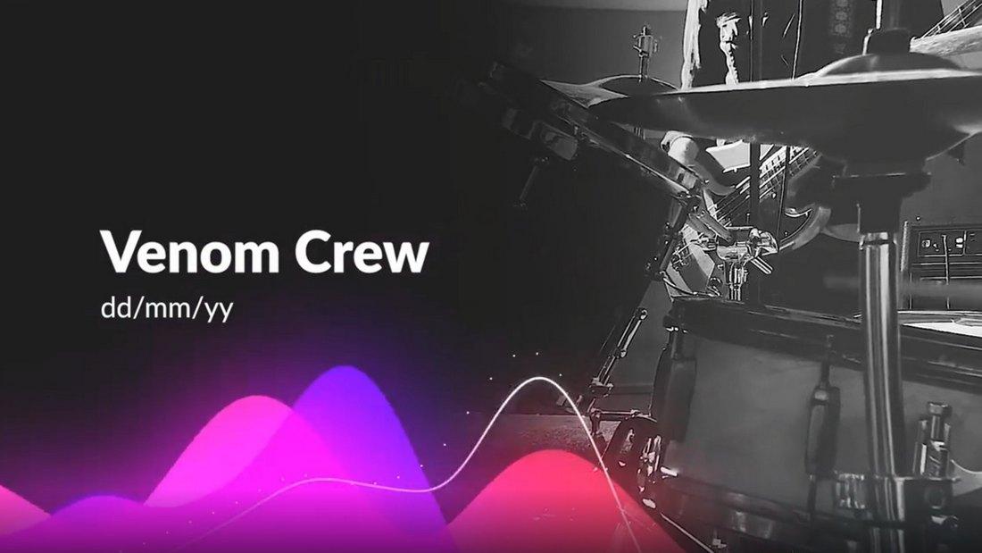 Free Colorful Audio Visualizer Premiere Pro Template