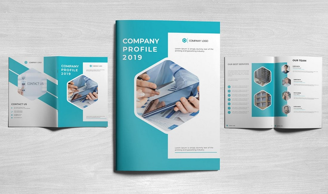 Free Company Profile Brochure Template