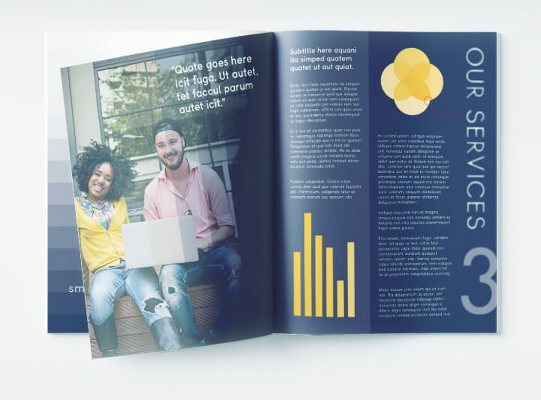 Free Corporate Annual Report Template