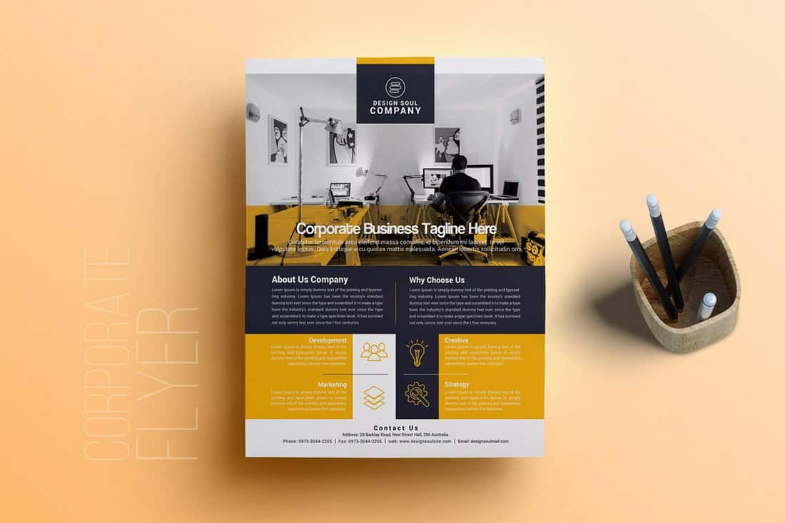 Free Corporate Flyer Template