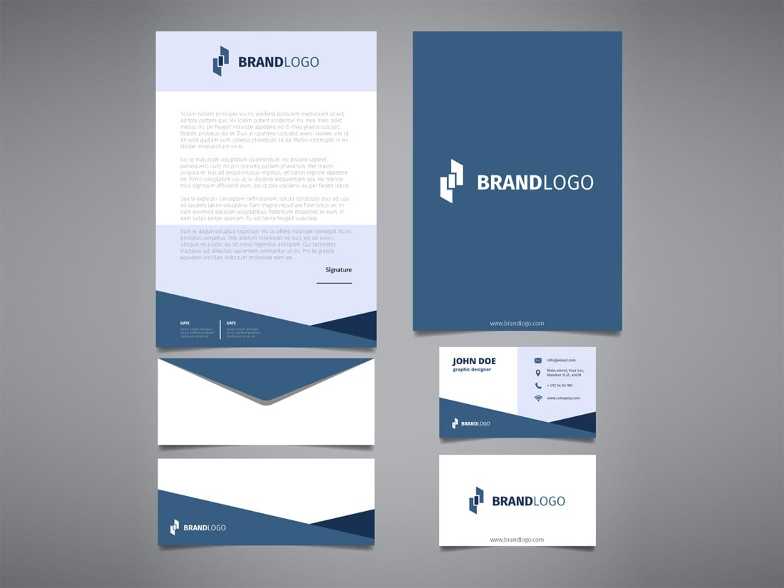 Free Corporate Identity Template