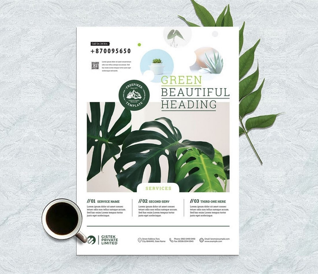 Free-Corporate-Minimal-Flyer-Brochure-Template 20+ Free Brochure Templates for Word (Tri-Fold, Half Fold & More) design tips
