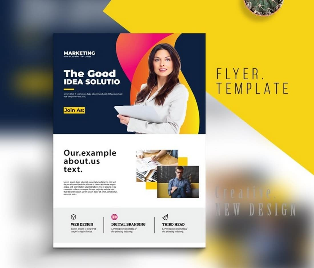 Free Creative Business Flyer Template