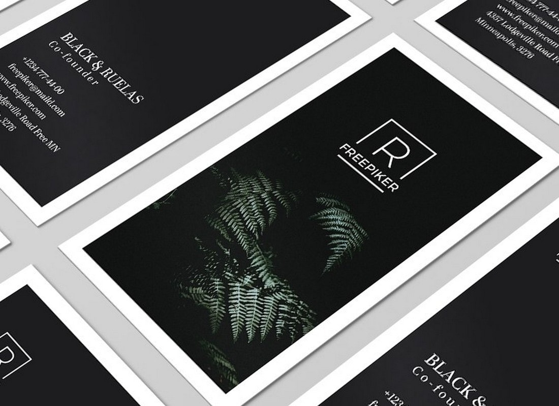 Free Creative Clean Business Card Template