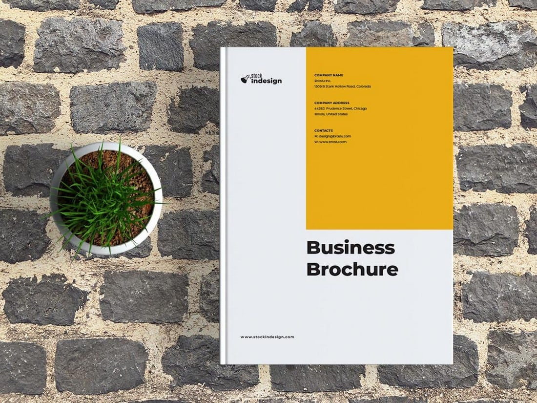 Free Creative Corporate Brochure Template