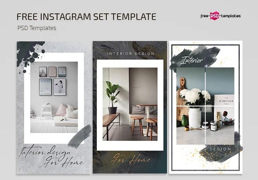 Free Creative Instagram Frame Templates