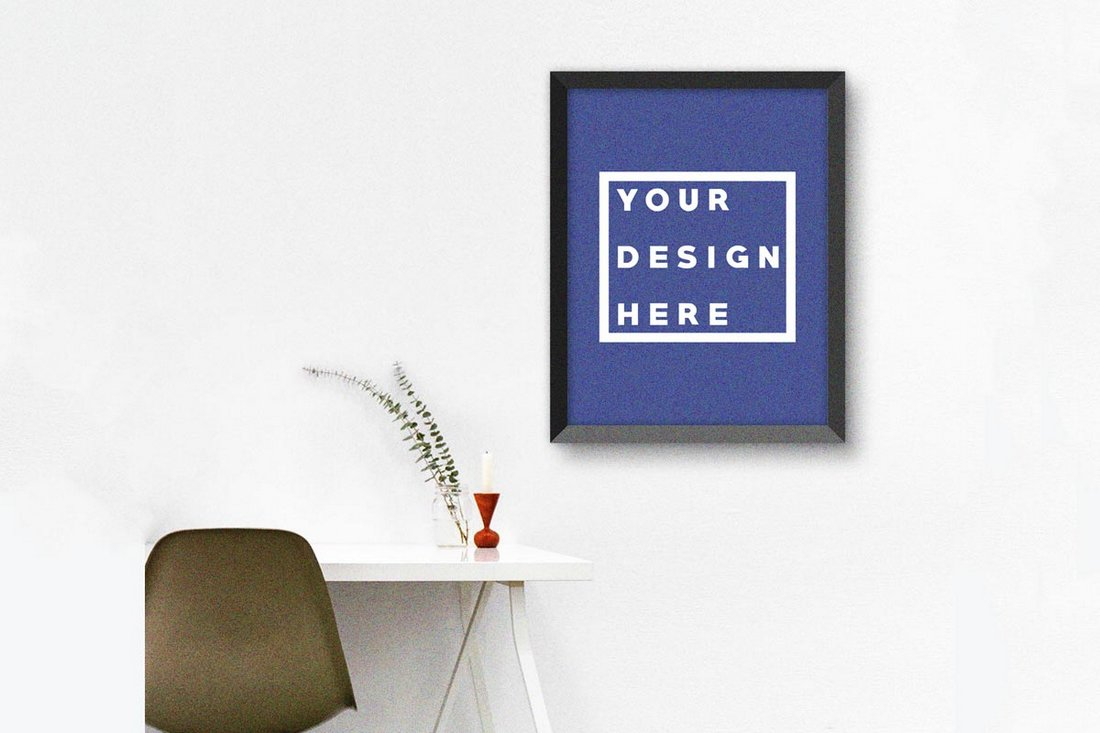 Free-Creative-Poster-Mockup 30+ Best Poster Mockup Templates 2021 design tips