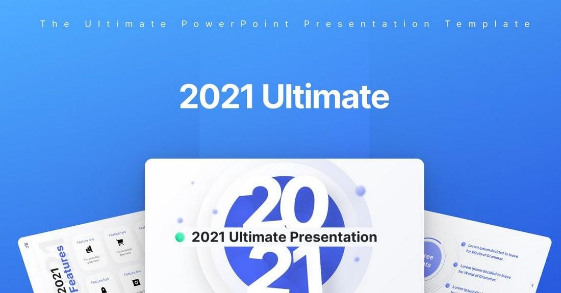 Free Creative PowerPoint Presentation Template