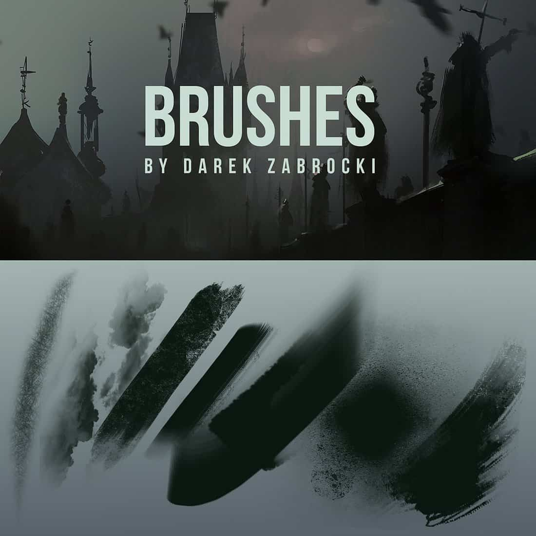 Free Dark Photoshop Brushes