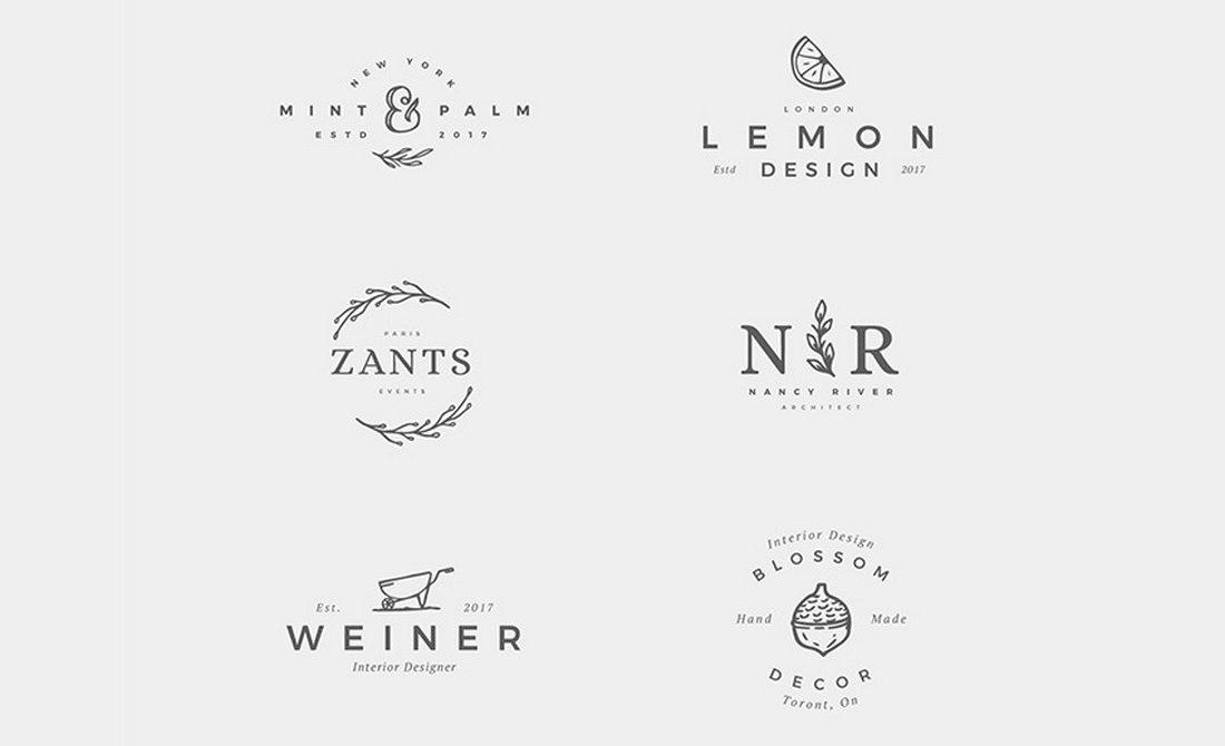 Free Delicate Feminine Logos