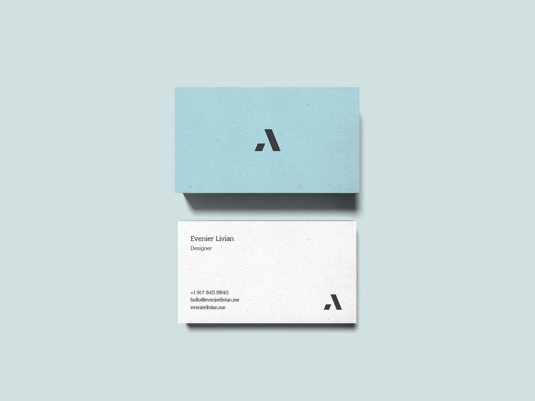 Free Digital Designer Business Card Template