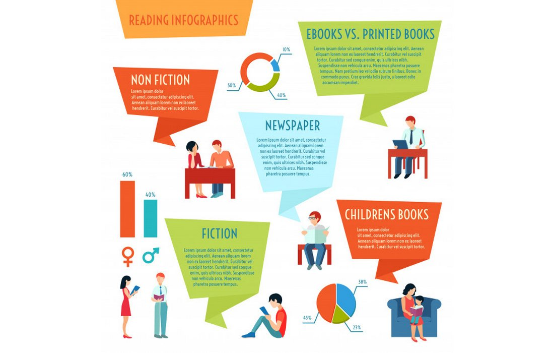 Free Education Infographic Elements