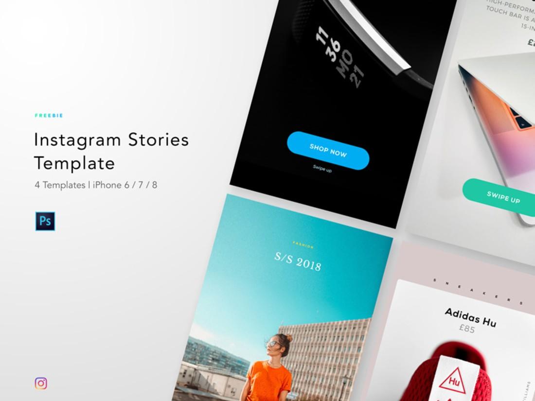 Free Elegant Instagram Story Templates