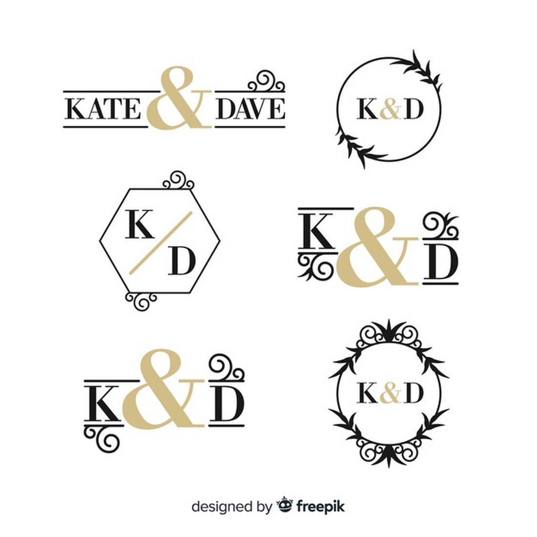 Free Elegant Logo Templates