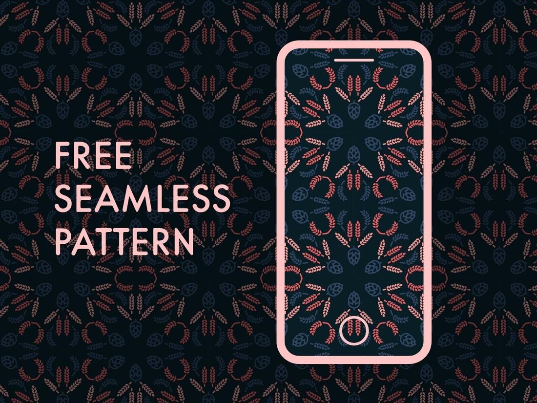 Free Elegant Seamless Pattern