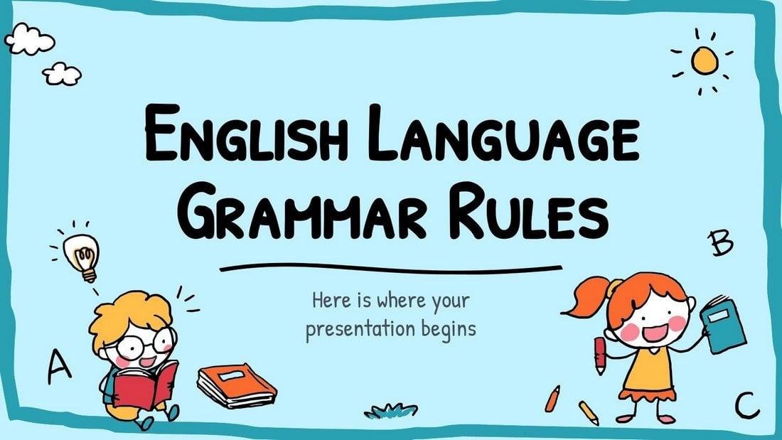 Free English Language Grammar Rules PPT
