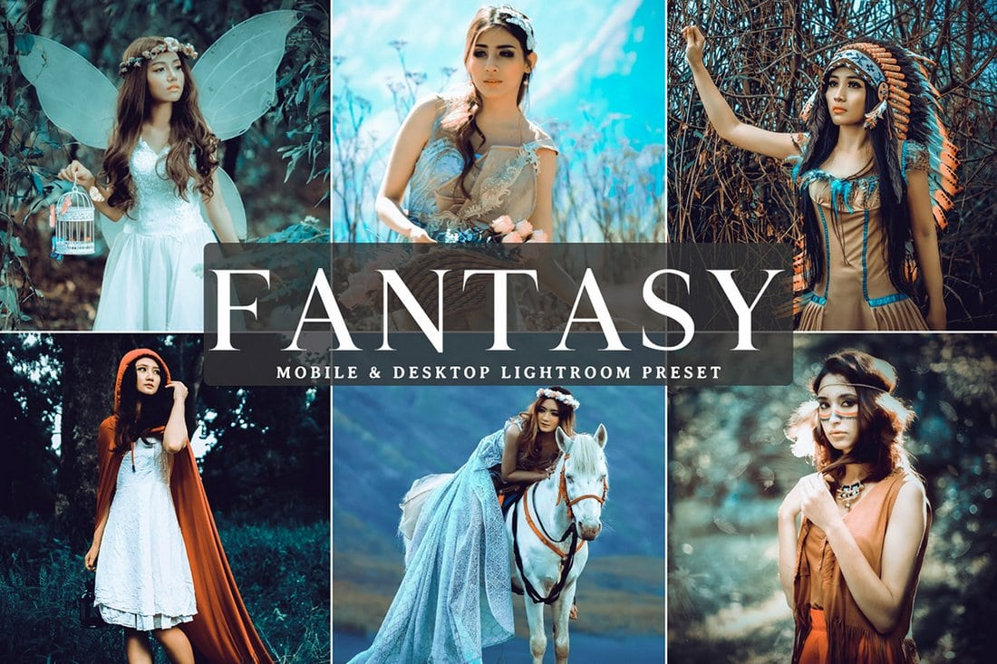 Free-Fantasy-Mobile-Desktop-Lightroom-Preset-1 50+ Best Lightroom Presets for Portraits (Free & Pro) 2020 design tips
