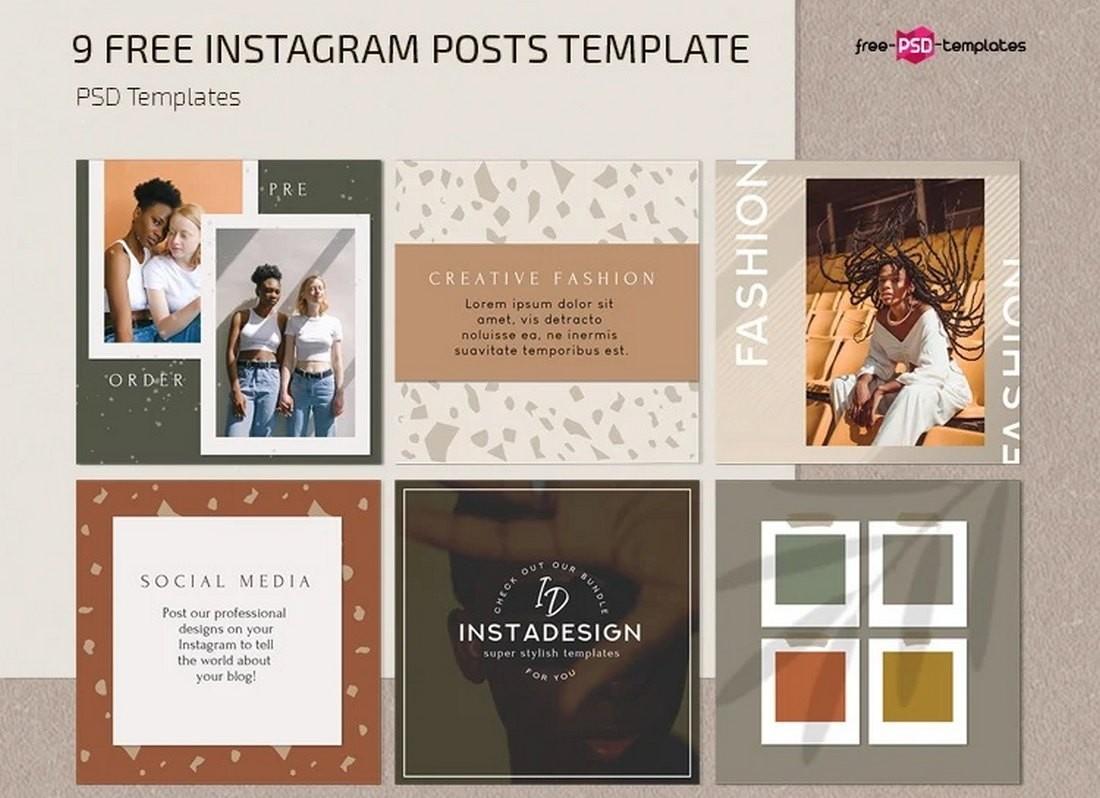 20+ Best Instagram Frame Templates (Custom Frame PNGs ...