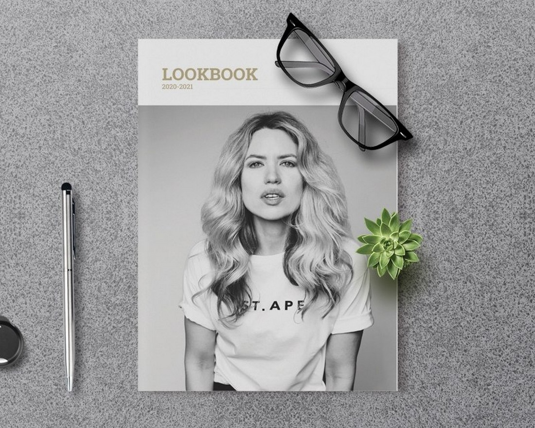 Free Fashion Lookbook Template